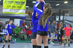 IMG_1507 (SJH Foto) Tags: school girls club high team jump five teens teenager midair volleyball highfive burst mode tweens