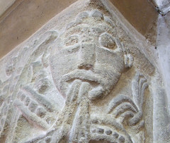 man with vines coming out of his mouth (12th Century) (Simon_K) Tags: church churches peterborough cambridgeshire sutton eastanglia cambs soke suttoncumupton