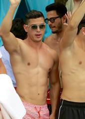 IMG_1618 (danimaniacs) Tags: shirtless man hot sexy guy armpit mexico hunk puertovallarta trunks swimsuit stud