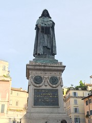 Giordano Bruno (propnose) Tags: travel italy rome statue astronomy astrology