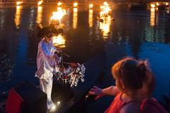 The Phantom Boatman (Chen Yiming) Tags: ri newengland providence rhodeisland phantom pvd boatman waterfire michaelgrando phantomboatman