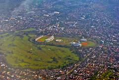 Arcamanik sport centre (BxHxTxCx) Tags: city stadium aerialview bandung stadion kota fotoudara