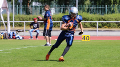 Rostock Griffins Junioren (Zarner01) Tags: digital canon germany deutschland eos football outdoor gameday american l usm 370 touchdown 70200 ef rostock razorbacks mecklenburgvorpommern griffins lva erkner junioren hansestadtrostock 110616 canoneos750d leichtahtletikstadion