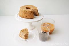 Thai Milk Tea Chiffon Cake (Erika Low Yue Huan) Tags: cake recipe thailand baking milk tea chiffon thai thaimilktea sumopocky