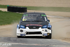 Ford Focus II 4x4 T16 (97) (Mark Flaherty) (tbtstt) Tags: world 3 monster championship belgium round jules circuit rallycross 2016 tacheny mettet