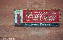 CocaCola (Ian Chapin) Tags: brick sign vintage washington coke advertisement palouse rosalia cocacloa ianchapin copyrightianchapin