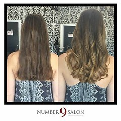 """Beautiful before/after of a cut and balayage, just in time for summer! via Number 9 Stylist, Jerry. #dtsp #tampabay #balayage #instaburg • <a style=""""font-size:0.8em;"""" href=""""http://www.flickr.com/photos/41394475@N04/27214311401/"""" target=""""_blank"""">View on Flickr</a>"""
