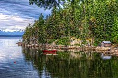 Serene Moorage (gr8fulted54) Tags: canada water boat nikon hdr on1 photomatix tonemapped d7100