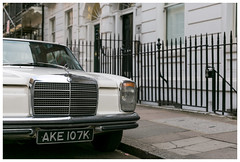 There we were, suddenly in another time and place. (Wil Wardle) Tags: england london architecture canon photography mercedes automobile britain retro mercedesbenz f28 westend carportrait regentspark elegance retrofeeling britishphotographer 5dmk3 wilwardle ebphoto carportraiture