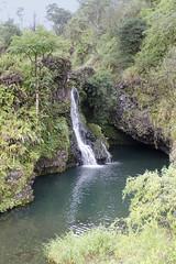 Water Fall On Road to Hana II (rschnaible) Tags: road usa water forest landscape hawaii us waterfall tour pacific outdoor hiking sightseeing maui hike falls hana jungle tropical tropics