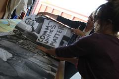 IMG_3394.1.web (rawEarth) Tags: wheatpaste photography brookeanderson photographer facesofcoalresistance signs protestsigns nocoal climatechange coaldust healthycommunities oaklandca communitiesmatter