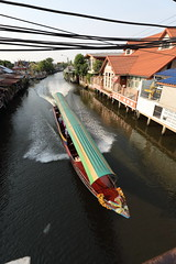 "Khlong Bang Luang (g e r a r d v o n k เจอราร์ด) Tags: artcityart art asia asia"" architectuur asian architecture boats buddha canon city colour expression eos earthasia fantastic flickraward lifestyle ngc newacademy photos reflection stad this travel totallythailand thailand thai unlimited urban whereisthis where yabbadabbadoo water ships transport flickrsbest 攝影發燒友"