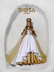 Cibeles. Diosa Frigia ( Phrygian Goddess) (davidbocci.es/refugiorosa) Tags: cibeles diosa frigia phrygian goddess barbie mattel fashion doll mueca refugio rosa david bocci ooak