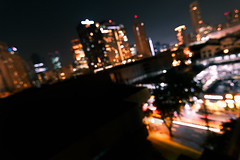 Bokeeeeh (JOLIVETV) Tags: city longexposure sky cars june night contrast canon buildings dark lights asia traffic bokeh philippines wideangle manila makati metropole 2016 canon60d jolivetv