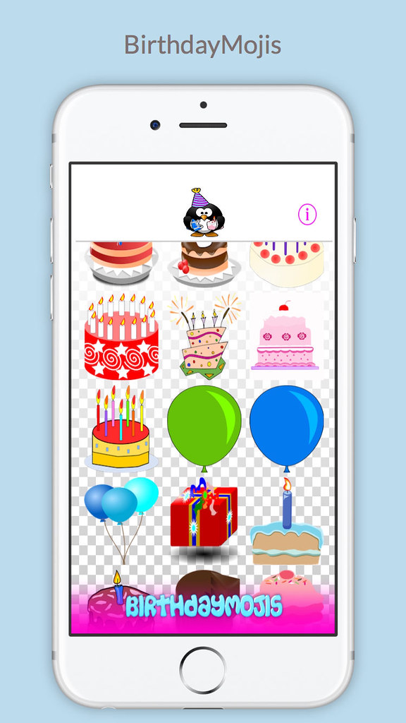 BorthdayMojis Uply Media Inc Tags Birthday Happy Emoticons Emojis