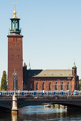 stockholm - city hall 2 (Doctor Casino) Tags: bridge brick tower architecture architect townhall milestone stadshuset 19000 stockholmcityhall nationalromanticism stockholmsstadshus ostberg ragnarstberg 19071923