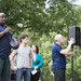 Jeff Hayden speaks at a vigil for the Orlando Pulse shooting victims