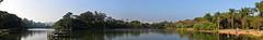 So Paulo from Ibirapuera Park-Panorama (slyronit) Tags: park brazil panorama sopaulo cityscapes ibirapuera