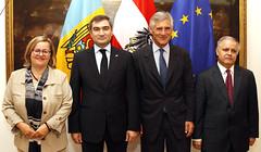 Generalsekretär Linhart trifft Vize-Außenminister Von Moldawien