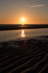 sunset maasvlakte 2 (Aschwinn) Tags: sunset beach strand noordzee northsea d750 zonderondergang maasvlakte2