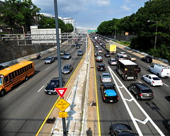 Be Prepared to Stop (cmyhsi) Tags: dc washington highway rushhour 395 i395