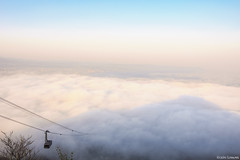 ropeway to the sea of clouds (it05h1) Tags: sky cloud mountain nature japan clouds landscape hokkaido mt mount hakodate ropeway seaofclouds japanscape it05h1