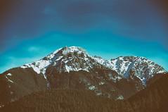 blue (Enhanced Reality) Tags: blue winter sky snow mountains intense nikon mood poland polska february tatry tatra zakopane 2015 d90