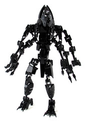 An Uneven Darkness (Shadow Kraata) Tags: bionicle