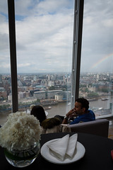 View from the Ting Lounge in the Shard (Numinosity (Gary J Wood)) Tags: uk england london borough southwark shangrilahotel theshard tinglounge