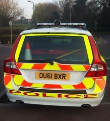 TRAFFIC V 70 (NW54 LONDON) Tags: police 999 policecars emergencyvehicle volvov70 trafficcar hertfordshirepolice