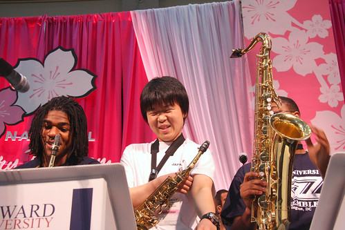 Tohoku University Jazz Orchestra @ National Cherry Blossom Festival Family Days Sat 24 Mar 2012   (41)