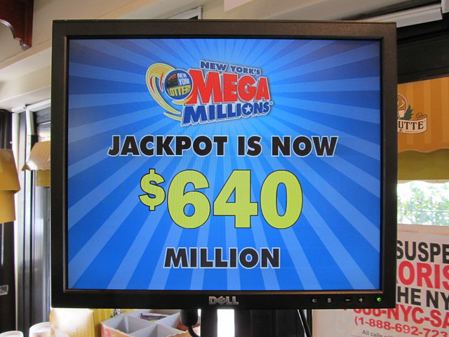 The New York State Mega Millions Jackpot Is Now $640 Million (03/30/12) (IMG_7408)
