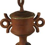 "<b>Ringed Urn</b><br/> John D. Coiner ""Ringed Urn"" Stoneware, 1966 LFAC #543<a href=""http://farm8.static.flickr.com/7073/6899909422_fe907222bb_o.jpg"" title=""High res"">∝</a>"