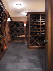 "Custom Wood racked wine cellar • <a style=""font-size:0.8em;"" href=""http://www.flickr.com/photos/75603962@N08/6902243134/"" target=""_blank"">View on Flickr</a>"