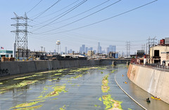 Los Angeles River Documentary (Tom Andrews) Tags: california water la losangeles kayak losangelesskyline losangelesriver lariver kaykaing rocktheboat lawater fola tomandrews downtwonlosangeles kayakingthelosangelesriver