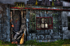 Haunted on the Cheap rsfw INDY0206 (IndyMcDuff (Bellifemine Studios)) Tags: halloween scary spooky farms hauntedhouses newjerseyusa hauntedattractions