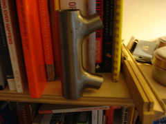 Schwinn electro-forged head tube (jimn) Tags: chicago schwinn framebuilding headtube copake electroforged