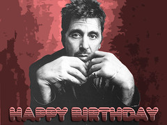 Al Pacino Wallpaper (Chilli Crab Movie) Tags: birthday hollywood actor alpacino