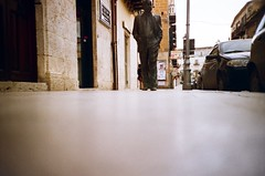 ... (icomewhenieatcaponata) Tags: camera old city sky italy film statue architecture analog 35mm buildings toy photography lomo lca lomography blu toycamera ground sicily writer leonardo analogue agrigento argentique sciascia ratseyeview racalmuto peppopeppo puddicinu lomographycn100 cockroachsview