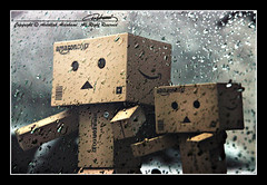 Enjoying Rain (Abdullah Aldahami Photography) Tags: rain drops amazon nikon mini nikkor d90 revoltech 18105mm danboard