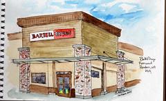 2012 0326 pharmacy (RedHarp) Tags: watercolor pharmacy wa renton