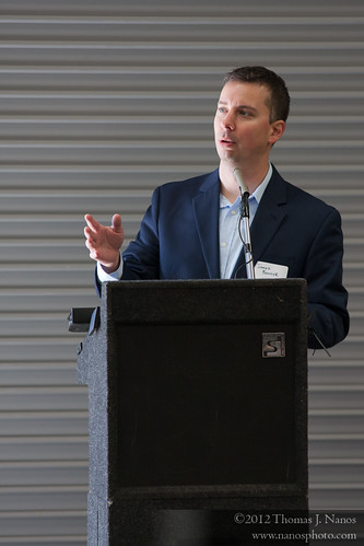 "Kickoff with the GM<br /><span style=""font-size:0.8em;"">CSOR General Manager James Bonner addresses the group of guests, and kicks off the tours of the new facility.</span> • <a style=""font-size:0.8em;"" href=""http://www.flickr.com/photos/20365595@N04/7050744749/"" target=""_blank"">View on Flickr</a>"
