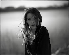 hard to get around the wind... (micmojo) Tags: portrait 120 film fashion fuji pentax medium format 100 6x7 67 acros