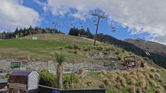 Ski Lift Atop Bob's Peak, Queenstown (dannymfoster) Tags: newzealand nz southisland queenstown chairlift lakewakatipu bobspeak skylinegondola