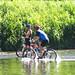 Water Pedaling