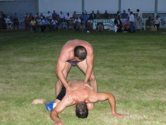 Strong wrestlers / Skutari /Serres/ Greece (d.mavro) Tags: body wrestling traditional greece wrestler biceps serres yunanistan grecoroman pehlivan athlet serez skutari