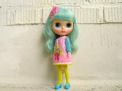 Popsicle (Helena / Funny Bunny) Tags: doll blythe popsicle rbl funnybunny misssallyrice icemintpopsicle pinksmocks fbfashion
