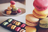 Macarons (Amanda Mabel) Tags: stilllife food french dessert yummy rainbow colours plate delicious pastry tray delectable macaroons macarons amandamabel