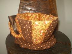 Xícara de tecido (gracyceres) Tags: patchwork decoração tecido capanotebook bolsanotebook xícaratecido