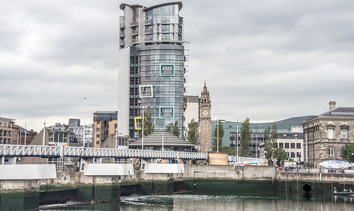 """Belfast - """"The Boat"""" and The Lagan Weir"""